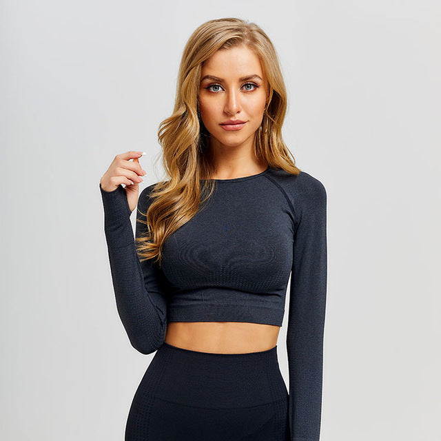 Dreamer High Waist Seamless Workout Top