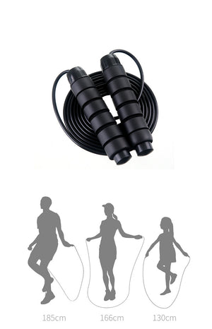 Rope Skipping Fitness Exercise - Wire Bearing Skipping Rope Small Equipment
