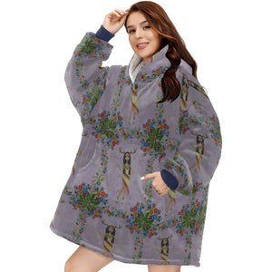 Deer Woman (Fairy Tale Fashion Series #5) Hoodie Blanket Sweatshirt