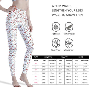 Christmas Woodland Critters  Women's Workout Leggings