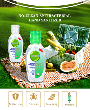 No Clean Waterless Clear Hand Gel
