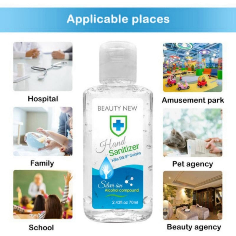 Disinfection Portable Hand Cleaner  Sanitizer Hand Soaps Disposable Rinse Free Hand