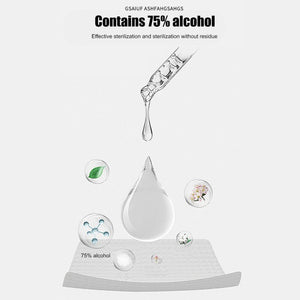 contains 70% alcohol