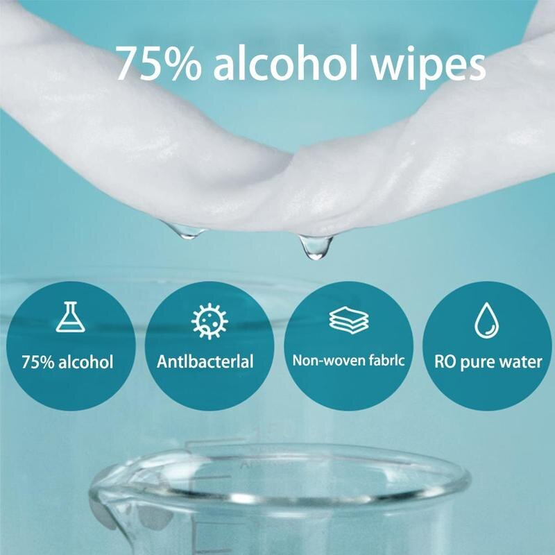 Alcohol Wet Wipe Disposable Disinfection