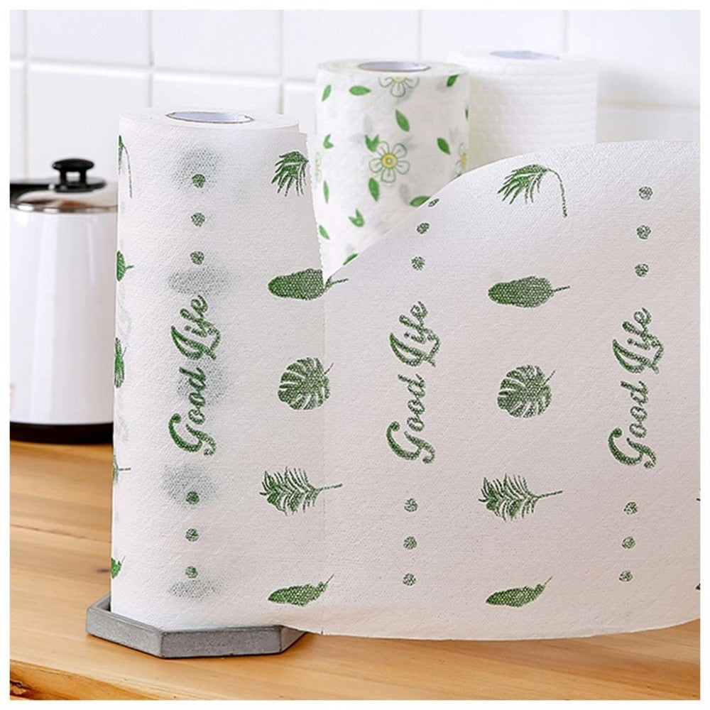 Kitchen Dish Cloth Roll Paper Towel
