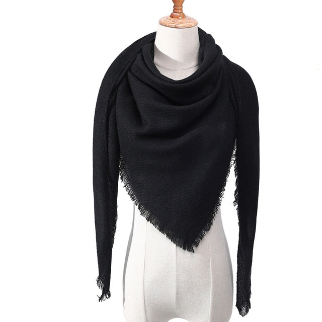 Women Scarf Slaid Scarves - Lady Shawls
