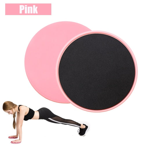 Yoga Leg Abdominal - 2 PCS Exercise Sliding Plate