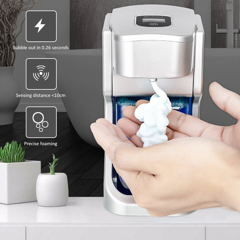 Automatic Soap Dispenser - 500ML Touchless Foaming Soap Dispensers with Waterproof
