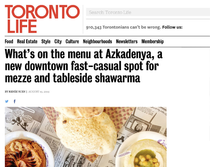 Here's what Toronto Life thinks!