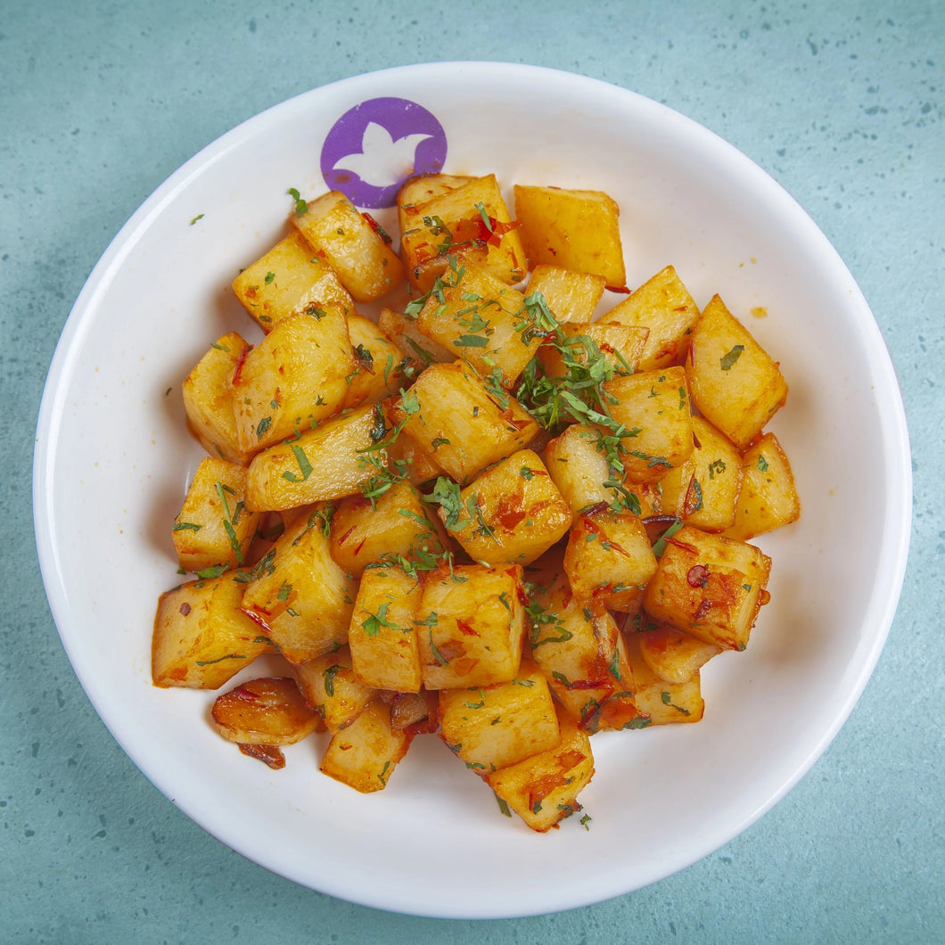 Spicy Garlic Potato
