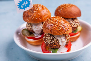 Falafel Sliders