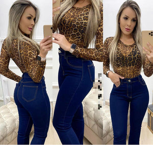 Body Tule Animal Print