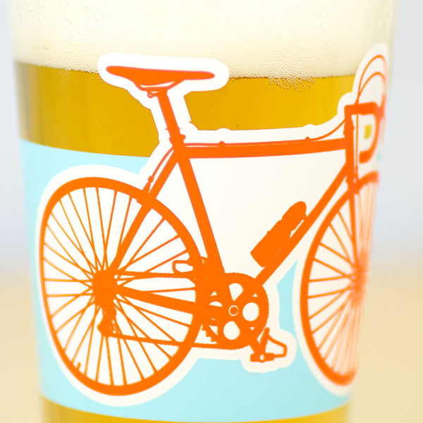 Bike Lover's Pint Glass