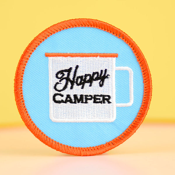 Happy Camper... Embroidered Patch