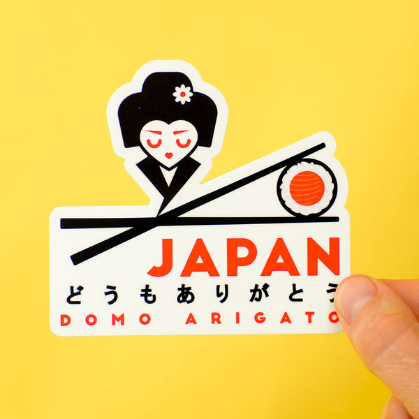 Japan Travel Sticker... Die Cut Sticker