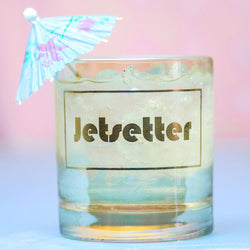 Jetsetter... cocktail glass
