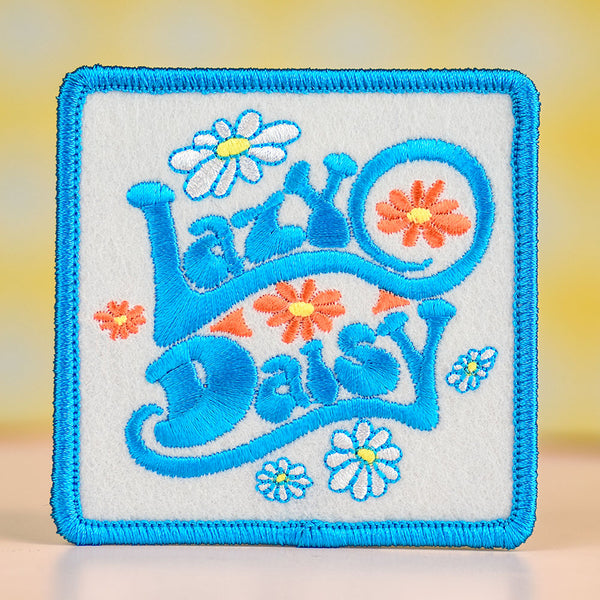 Lazy Daisy... Felt Patch
