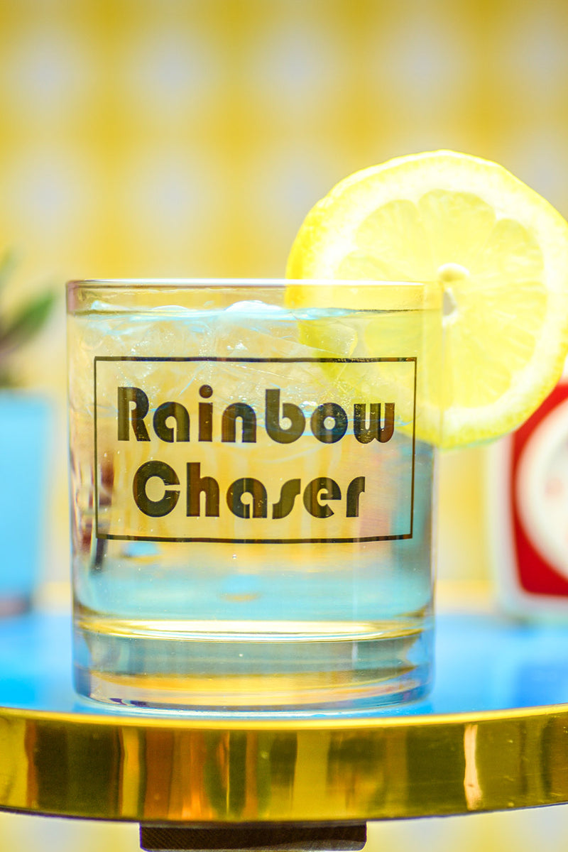Rainbow Chaser... cocktail glass