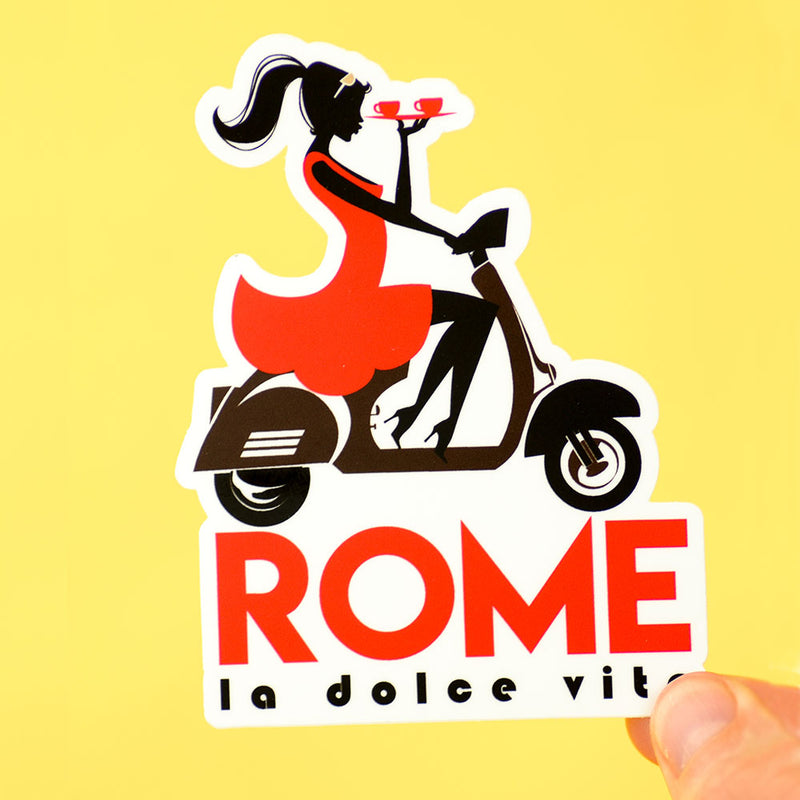 Rome Travel Sticker... Die Cut Sticker
