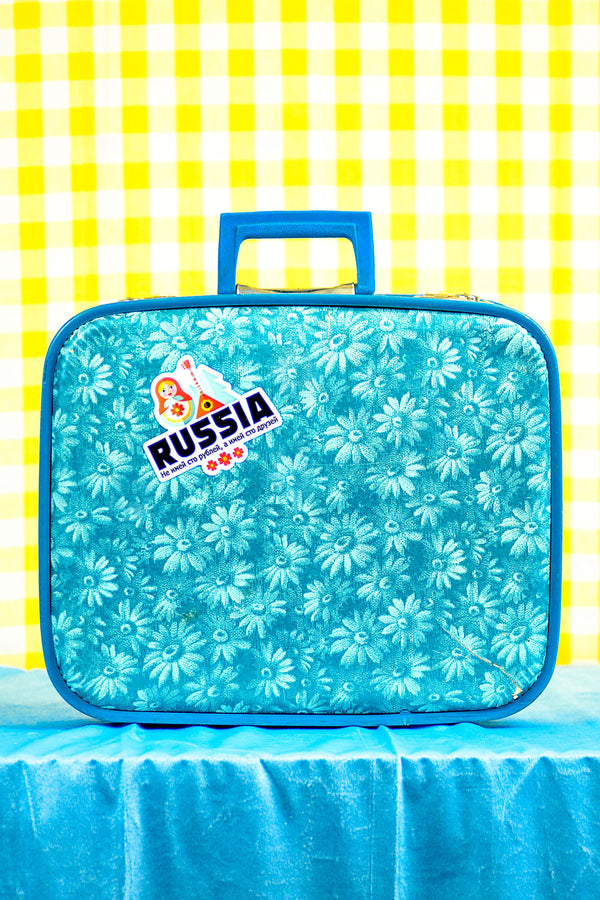 Russia Travel Sticker... Die Cut Sticker
