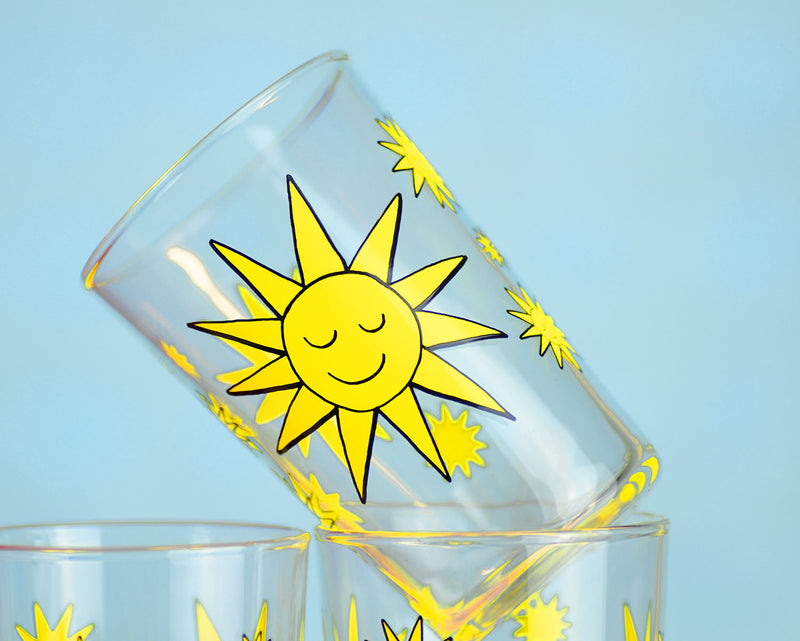 Sunny Days Juice Glasses... Set of 6