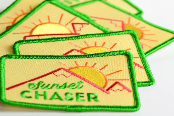 Sunset Chaser... Embroidered Patch