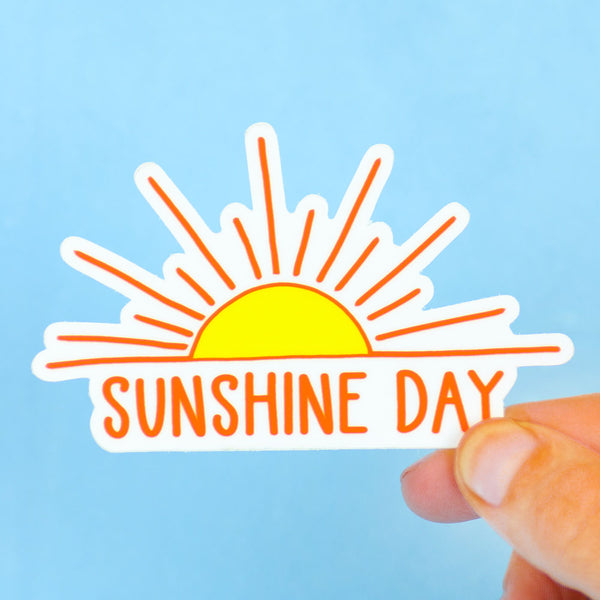 Sunshine Day... Die Cut Sticker