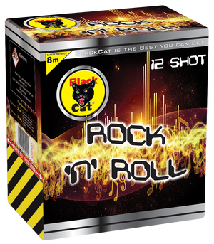 Black Cat Rock And Roll-83990  BUY ME GET A SIZZLING FREE