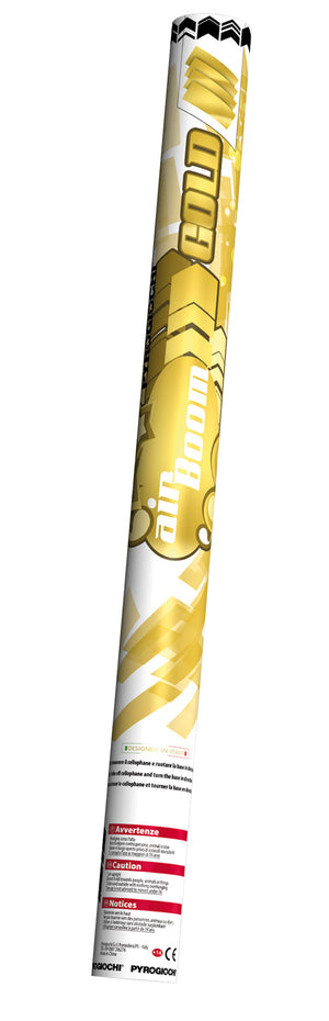 Trafalgar 600mm Confetti Cannon Gold 43016