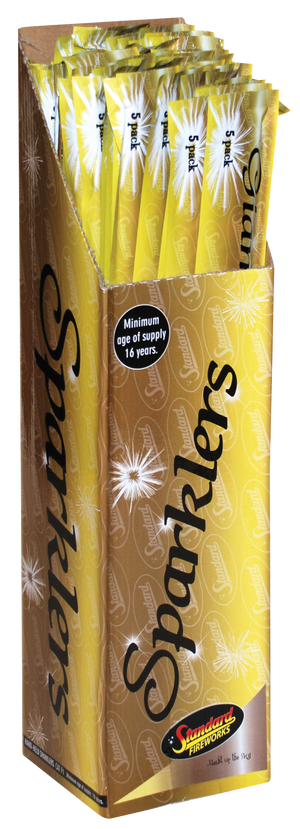 Standard Giant Legacy Sparklers-04085 ( CASE QUANTITY 72 packs/360 sparklers )