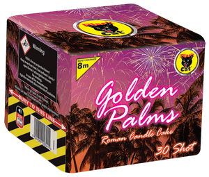 Black Cat Golden Palms-84048  BUY ONE GET ONE FREE