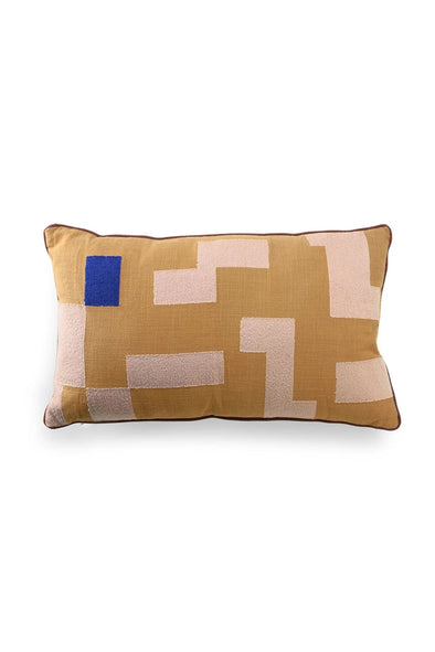 Double-sided cushion stitched squeres