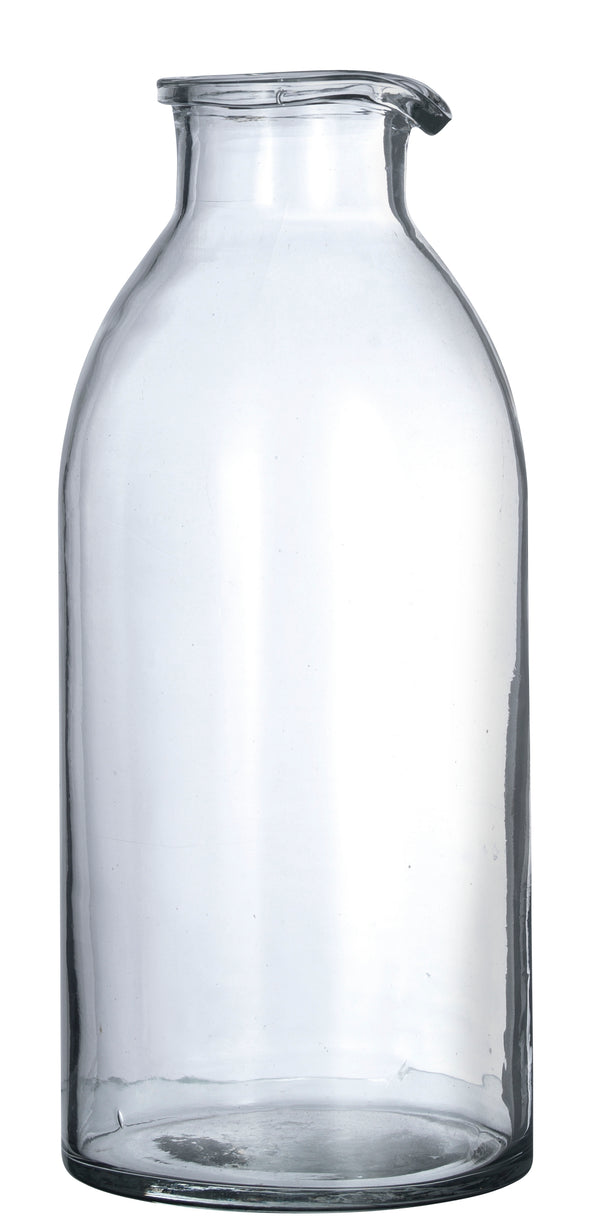 Glass Jug Clear Glass