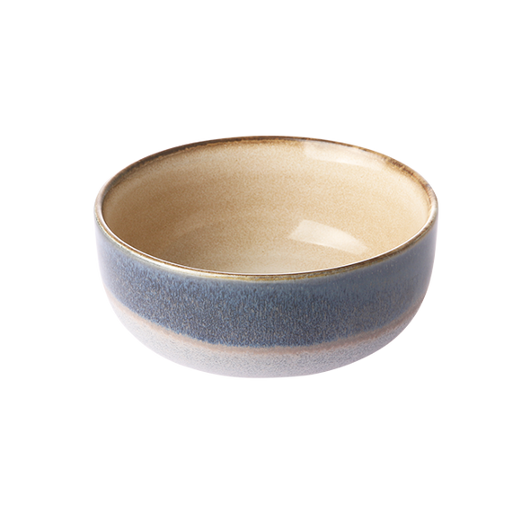 HKliving Ceramic 70's bowl medium  Ocean
