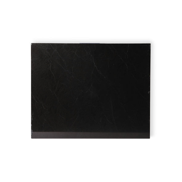 Marble cutting Board Black Polished 50x40x2 Black