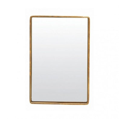 Mirror, reflection Brass