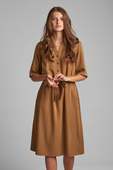 Nubethoc dress Bronze br