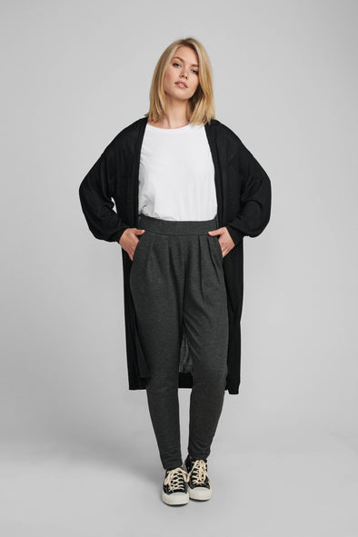 Nubia long cardigan Caviar