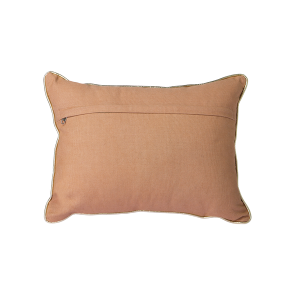 Nude CushionWith Silver Patches 930x40)