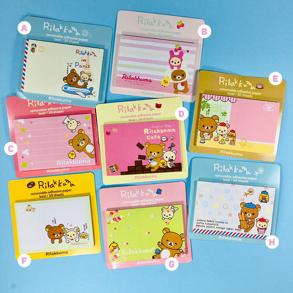 Post-it Rilakkuma