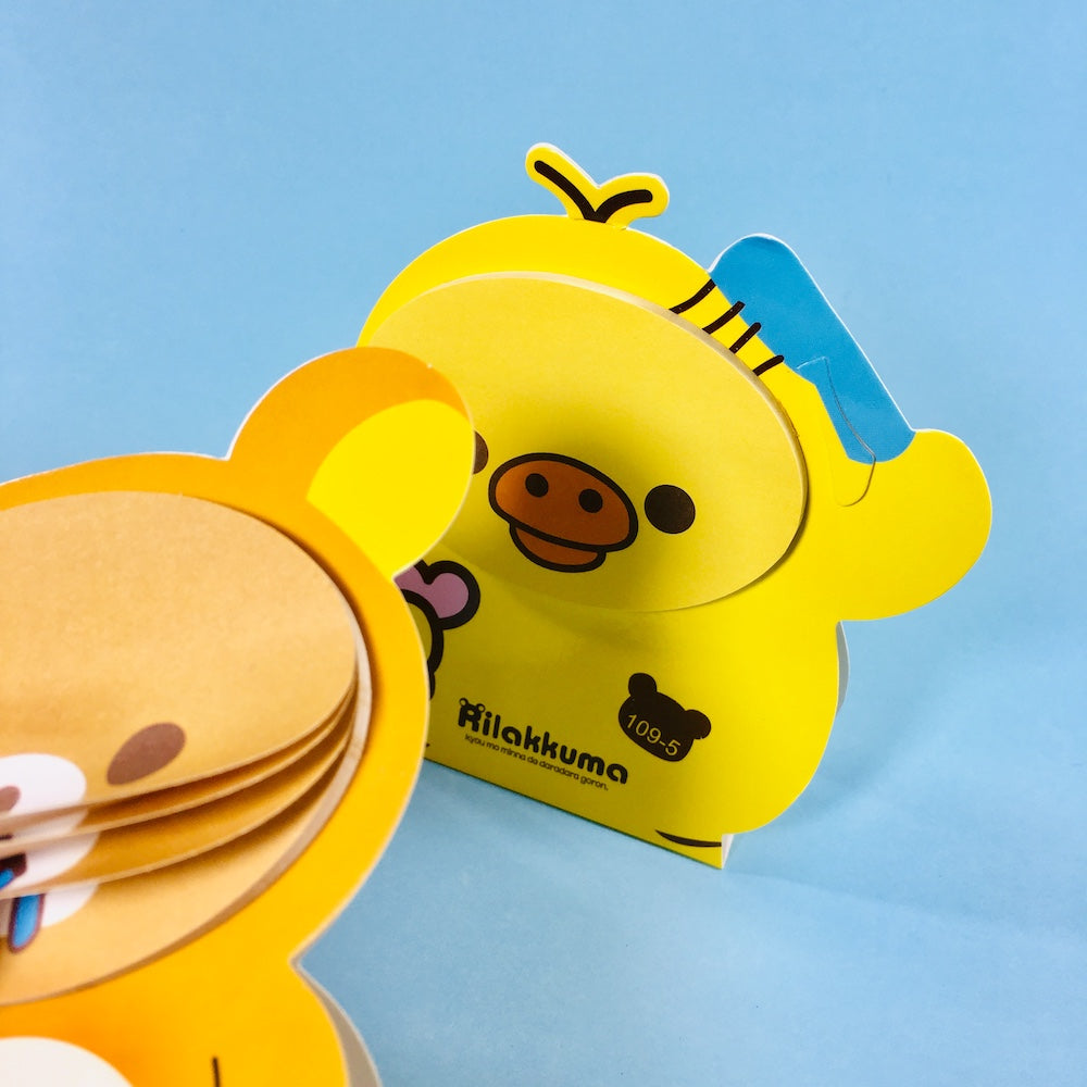 Post-it Rilakkuma y Kiiroitori