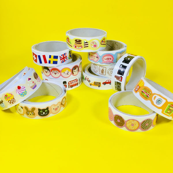Masking Tape Cutie Stickers