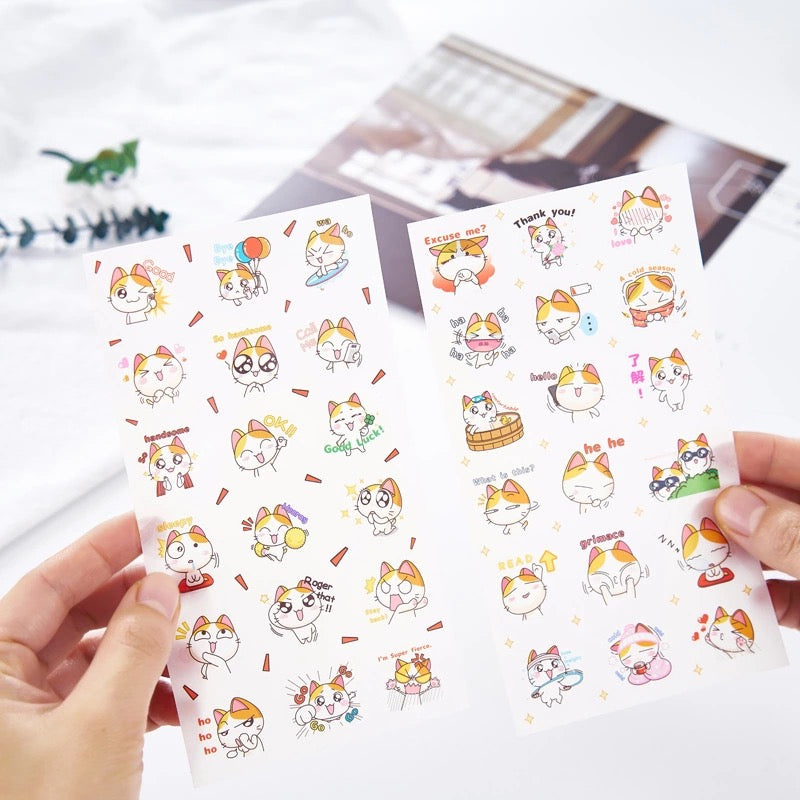 Stickers Gatitos Set