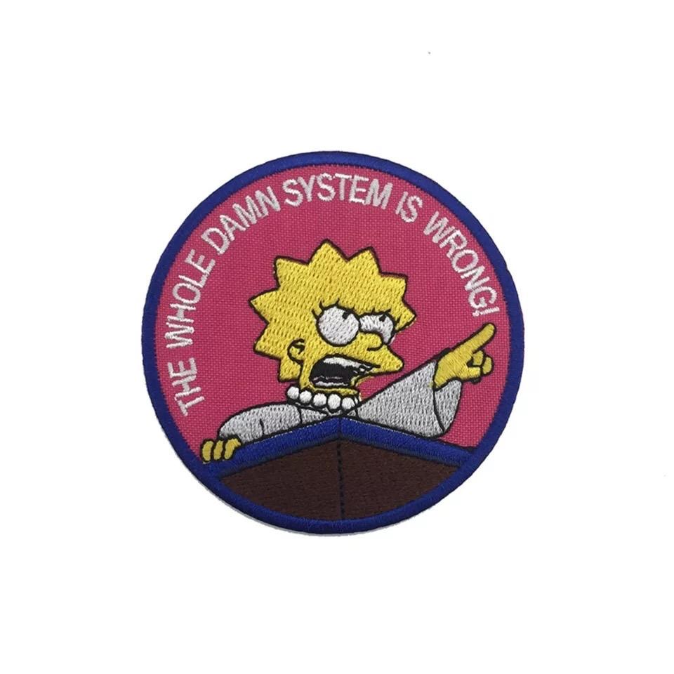 Parche lisa simpsons