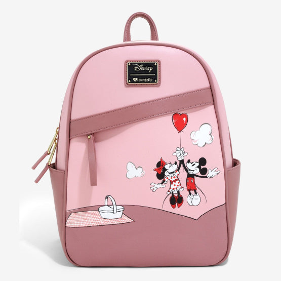 Mochila Loungefly Minnie y Mickey