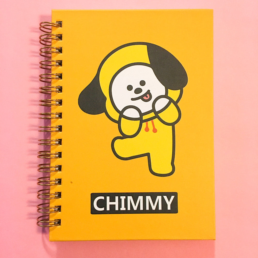Libreta BT21 Chimmy