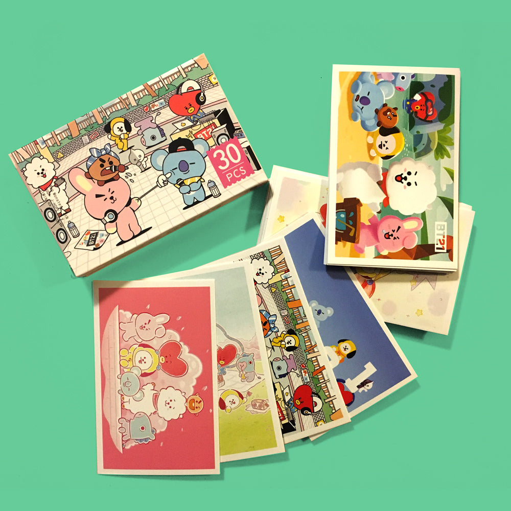 Lomo Card BT21