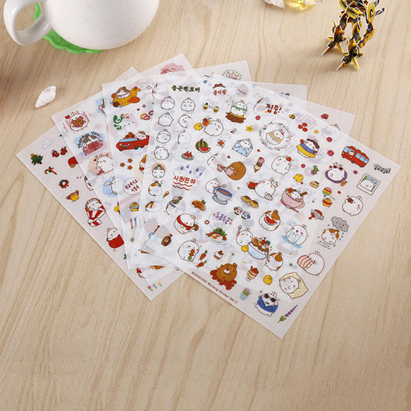 Stickers Molang Set