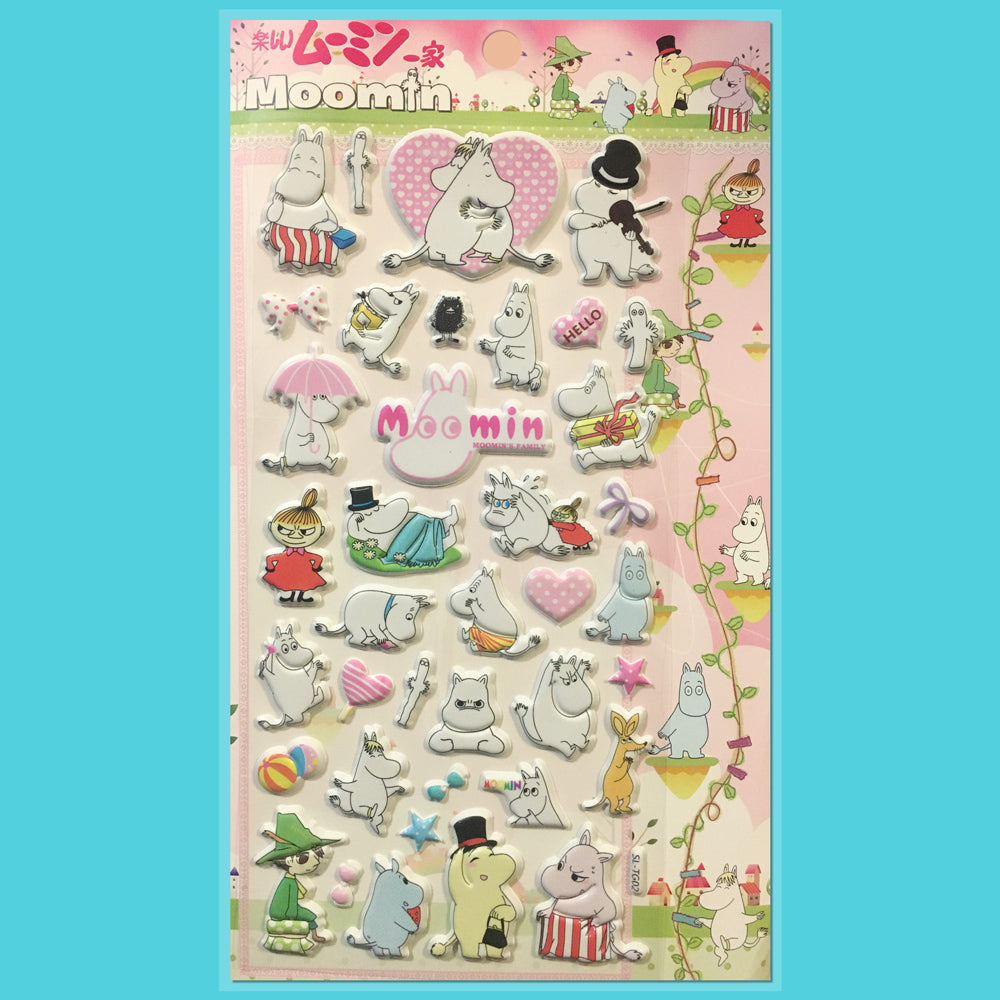 Stickers Moomin