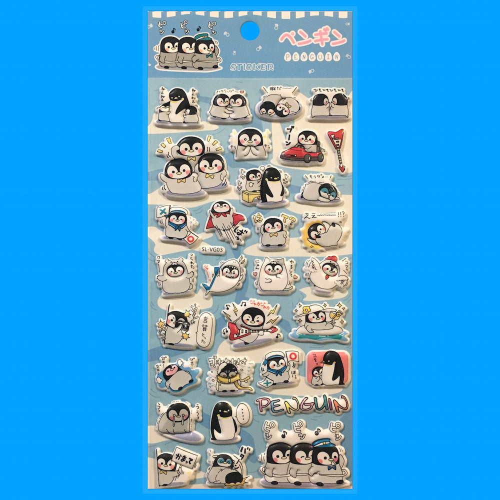 Stickers Pinguinos